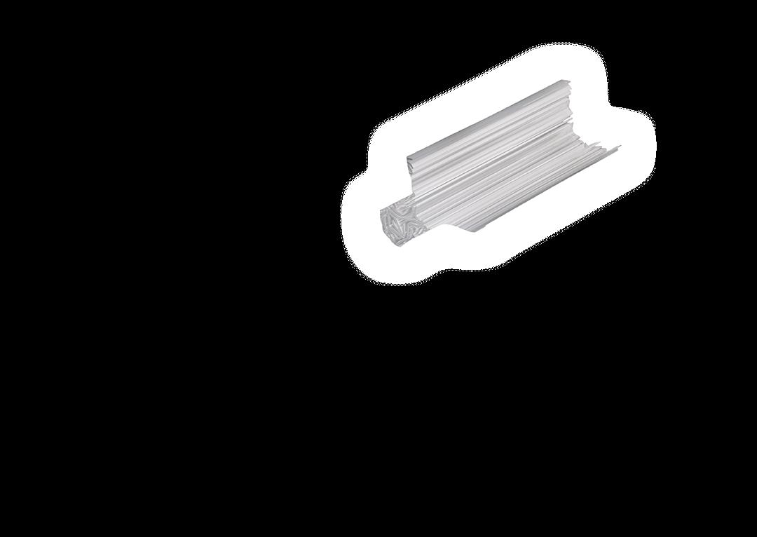 Tub din peliculă ondulată de biopolimer din rezervele HEETS